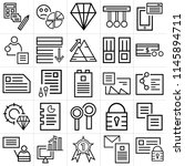 set of 25 icons such as mail ...