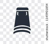 skirt black short vector icon... | Shutterstock .eps vector #1145901854
