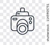 photograph camera vector icon... | Shutterstock .eps vector #1145905751