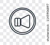 round volume button vector icon ... | Shutterstock .eps vector #1145906897