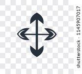four expand arrows vector icon...