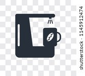 coffee maker vector icon... | Shutterstock .eps vector #1145912474