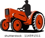 illustration of a farmer... | Shutterstock .eps vector #114591511