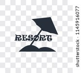 resort vector icon isolated on...   Shutterstock .eps vector #1145916077