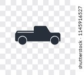 pick up truck vector icon... | Shutterstock .eps vector #1145916527