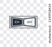 switch vector icon isolated on...   Shutterstock .eps vector #1145918414