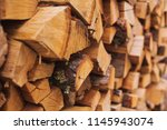 Stacks Of Firewood....