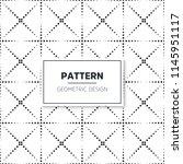 geometric pattern background   Shutterstock .eps vector #1145951117