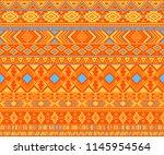 peruvian american indian... | Shutterstock .eps vector #1145954564