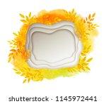 vector illustration of white... | Shutterstock .eps vector #1145972441