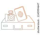camera photographic with...   Shutterstock .eps vector #1145994647