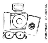 camera photographic with...   Shutterstock .eps vector #1146006437