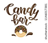 candy bar. vector illustration... | Shutterstock .eps vector #1146017381