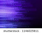 cyberspace with binary code ... | Shutterstock .eps vector #1146025811