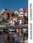 mollosund in sweden in summer   Shutterstock . vector #1146033794