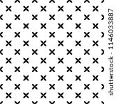 seamless geometric black and... | Shutterstock .eps vector #1146033887