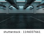 car park background  3d... | Shutterstock . vector #1146037661