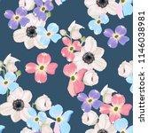 spring autumn violet blue pink... | Shutterstock .eps vector #1146038981