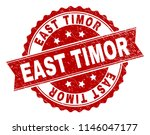 east timor seal print with... | Shutterstock .eps vector #1146047177