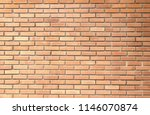 old brick wall background in... | Shutterstock . vector #1146070874