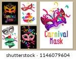 happy carnival festive concept...   Shutterstock .eps vector #1146079604