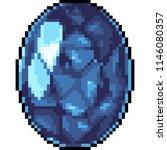 vector pixel art jewelry... | Shutterstock .eps vector #1146080357