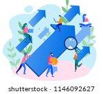 concept career growth  career ... | Shutterstock .eps vector #1146092627