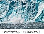 calving of aialik glacier in... | Shutterstock . vector #1146095921