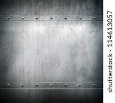 metal plate   Shutterstock . vector #114613057