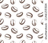 seamless pattern with hand... | Shutterstock .eps vector #1146155504