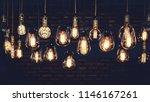 beautiful vintage luxury light... | Shutterstock . vector #1146167261