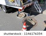 sewer camera inspection | Shutterstock . vector #1146176354