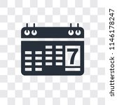 agenda vector icon isolated on... | Shutterstock .eps vector #1146178247