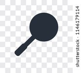 loupe vector icon isolated on... | Shutterstock .eps vector #1146179114