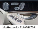 car door interior  seat and... | Shutterstock . vector #1146184784