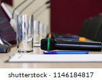 conference room table for... | Shutterstock . vector #1146184817