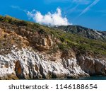 view of mountains from aegean... | Shutterstock . vector #1146188654