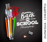 back to school design with... | Shutterstock .eps vector #1146189911
