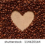 Heart Coffee Frame Made Of...