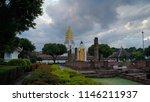 buddha statue at wat phra si...   Shutterstock . vector #1146211937