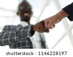 business people showing fist... | Shutterstock . vector #1146228197
