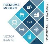 modern  simple vector icon set... | Shutterstock .eps vector #1146253517