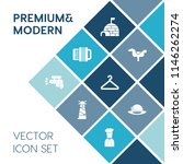 modern  simple vector icon set... | Shutterstock .eps vector #1146262274