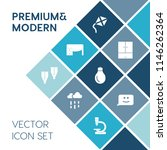 modern  simple vector icon set... | Shutterstock .eps vector #1146262364