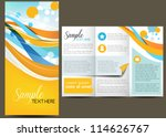 business design  brochure | Shutterstock .eps vector #114626767