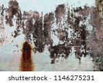 traces of time left on the wall.... | Shutterstock . vector #1146275231