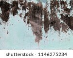 traces of time left on the wall.... | Shutterstock . vector #1146275234