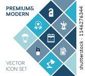 modern  simple vector icon set... | Shutterstock .eps vector #1146276344
