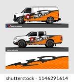 car decal design vector.... | Shutterstock .eps vector #1146291614