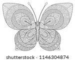 black and white image of a...   Shutterstock . vector #1146304874